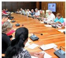 Comisión oficial encargada de redactar la Constitución cubana de 2019