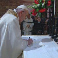 Introducción de la Carta Encíclica Fratelli Tutti, suscrita ayer por el papa Francisco en Asís